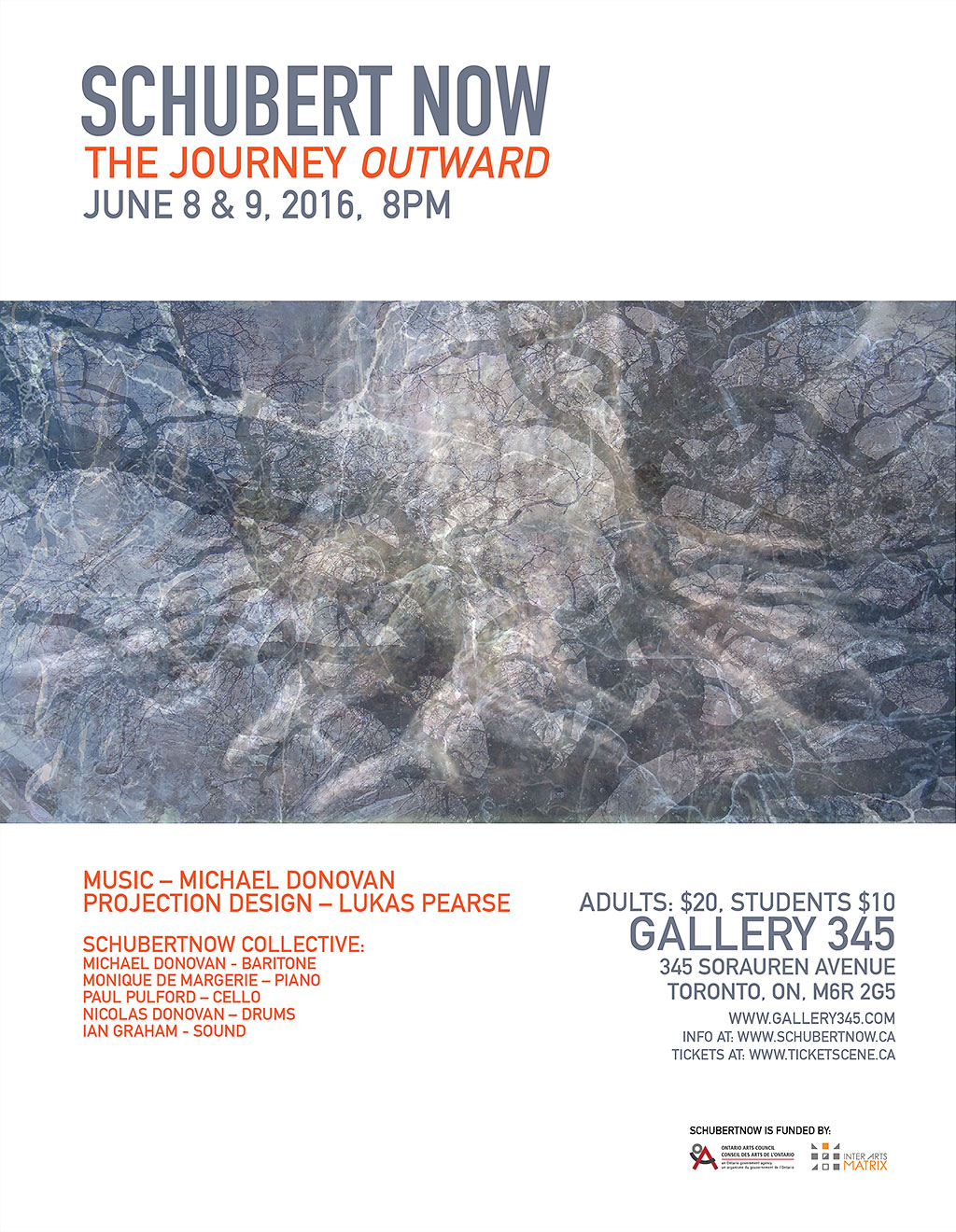 Schubert Now the Journey Outward